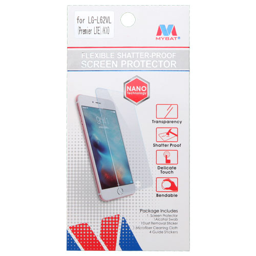 Details about Flexible Shatter-Proof Screen Protector for LG K10 LG L62VL  (Premier LTE)