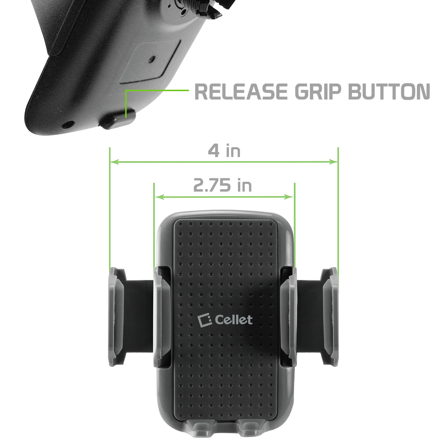 0e1be46b9cddd2 Dash Board Smartphone Holder, Clip Car Phone Mount with 360 Degree Rotation  for Apple iPhone X, 8/8 Plus, Samsung Galaxy Note 8, Galaxy S8/S8 Plus and  More ...