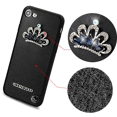 Crystal-3D-Diamante-Protector-Cover-with-Wrist-Lanyard-for-APPLE-iPhone-8-7 thumbnail 5