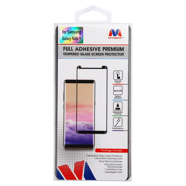 Details about Full Adhesive Curved age Premium Tempered Glass Black SAMSUNG  Galaxy Note 9