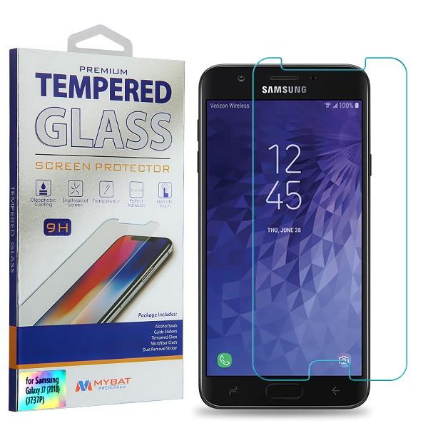 Tempered Glass Screen Protector (2 5D) for SAMSUNG J737P (Galaxy J7 (2018))  SAMSUNG J7 Refine SAMSUNG Galaxy J7 V 2nd Gen SAMSUNG Galaxy J7 Star