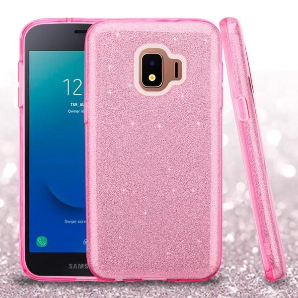 Details about Pink Full Glitter SAMSUNG J260 Galaxy J2 CorePure Galaxy J2  Dash